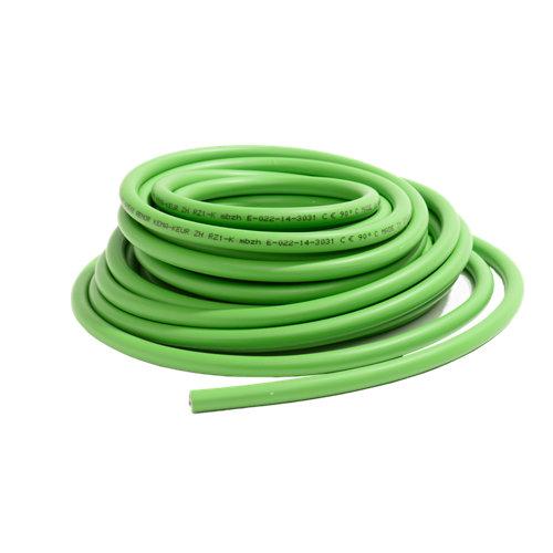 Manguera lexman rz1-k verde 3x1,5 mm² 25 m.