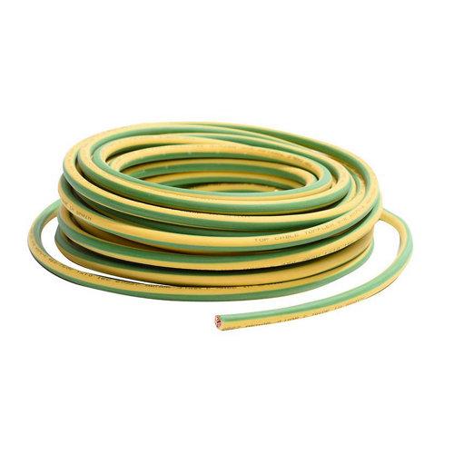 Cable lexman h07v-k vd/amarillo 2,5 mm² 20 m.