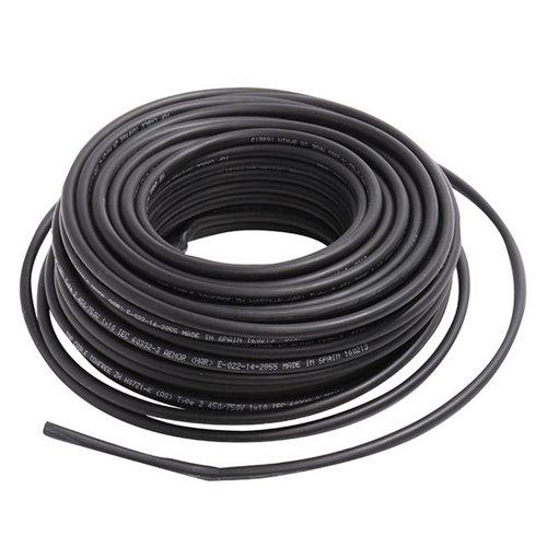 Cable lexman h07v-k negro 2,5 mm² 5 m