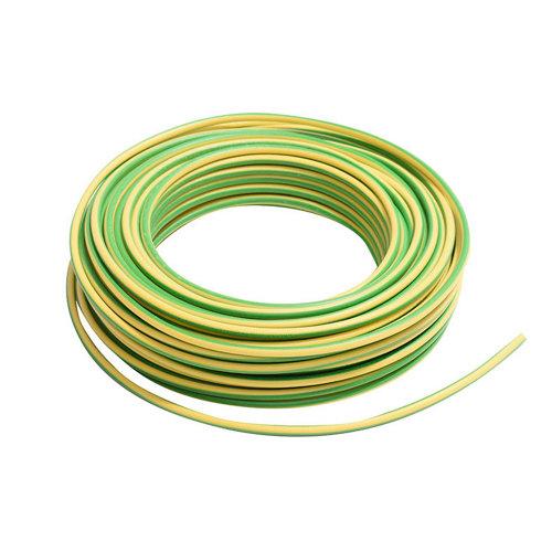 Cable lexman h07v-k vd/amarillo 2,5 mm² 5 m.