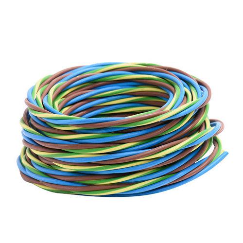Cable eléctrico trifácil lexman 3x1,5 mm² 10 m