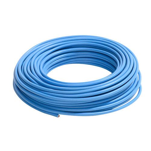 Cable eléctrico lexman h07v-k azul 4 mm² 10 m