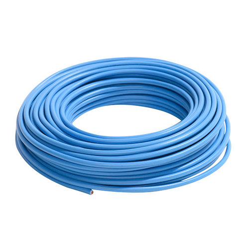 Cable eléctrico lexman h07v-k azul 4 mm² 25 m