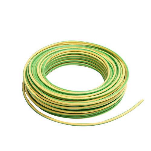 Cable eléctrico lexman h07v-k vd/amarillo 6 mm² 10 m