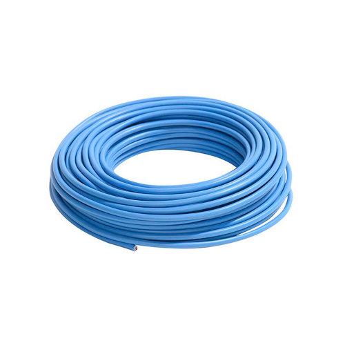 Cable eléctrico lexman h07v-k azul 6 mm² 25 m