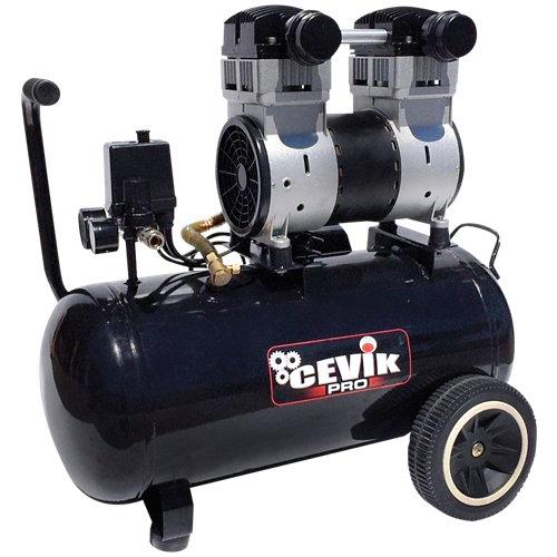 Compresor silencioso cevik pro pro40silent de 2 cv y 40l de depósito
