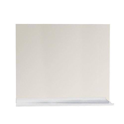Espejo de baño tecnic gris / plata 100 x 80 cm