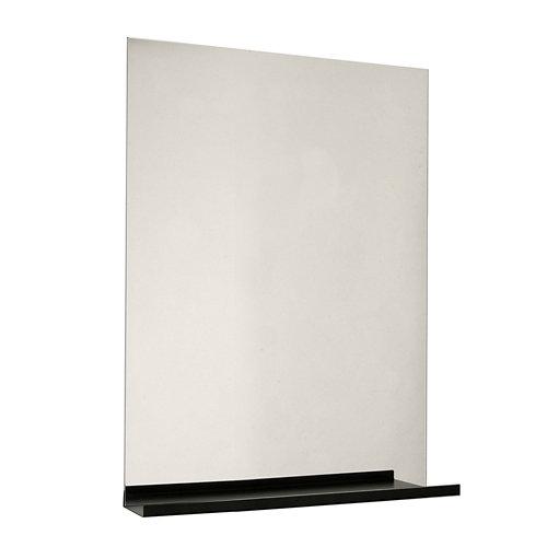 Espejo de baño tecnic gris / plata 75 x 60 cm