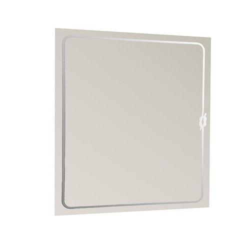 Espejo de baño knot gris / plata 60 x 75 cm