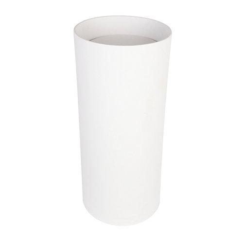 Lavabo cilindro blanco 40x90x40 cm