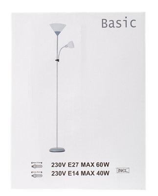 Lámpara MERLIN LEROY lectura · pie Basic de luz con de nPN8wyvm0O