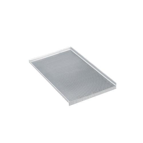 Plancha antihumedad para mueble de cocina fabricada en aluminio de 41.5x1.6 cm