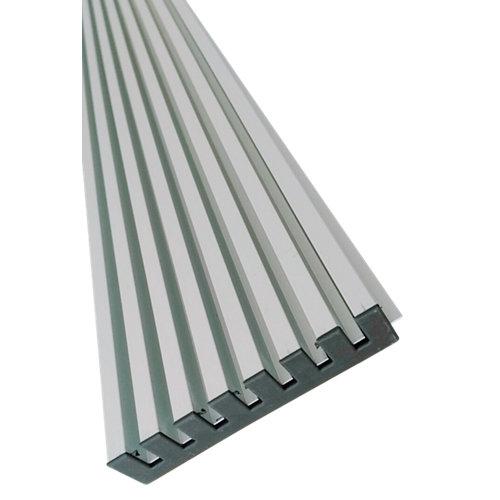 Rejillas de ventilación horno o frigo de aluminio de 59.6x12.2 cm