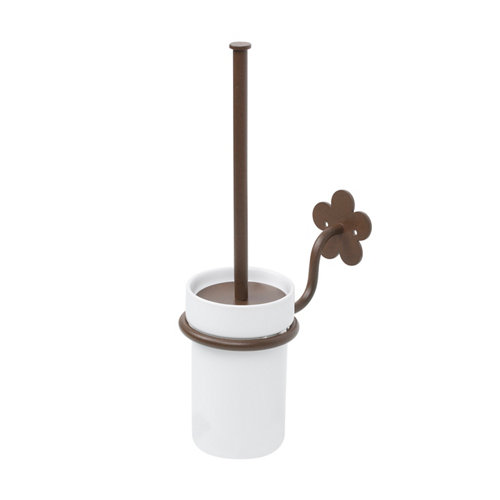 Escobillero provenza marrón lacado