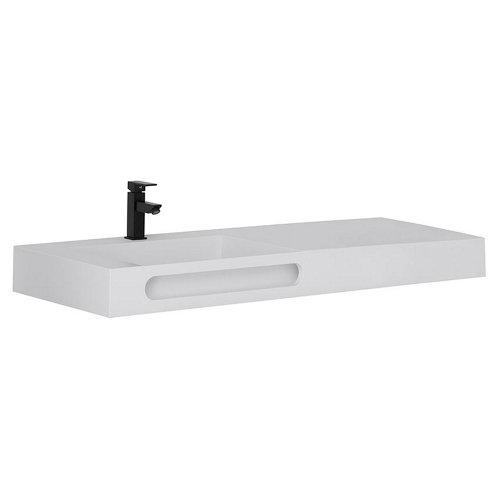 Lavabo zeus blanco 121x46 cm