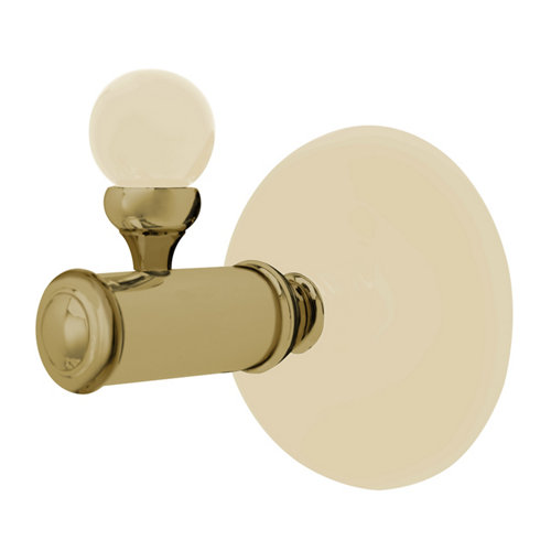 Percha de baño aras clasic beige mate