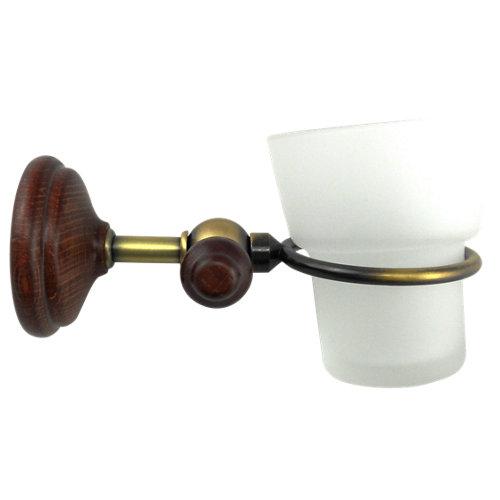 Vaso de baño viena marrón brillante
