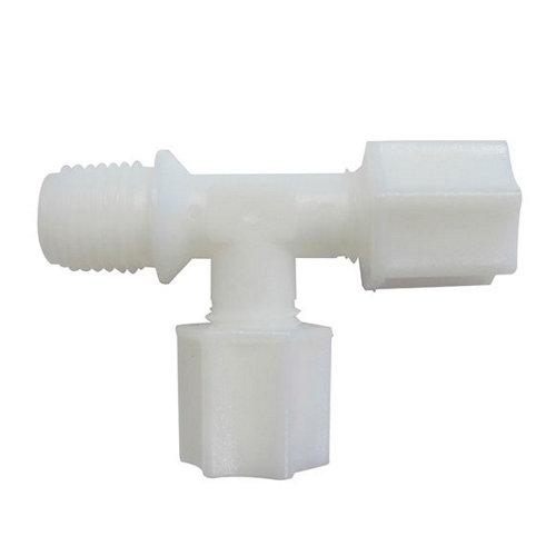 """Conector t rosca macho lateral de 1/4"""" para postfiltro"""