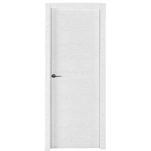 Puerta canarias blanco de apertura izquierda de 62.5 cm