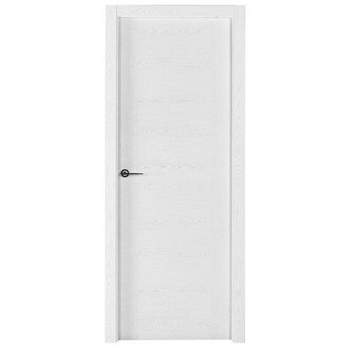 Puerta canarias blanco de apertura derecha de 62.5 cm