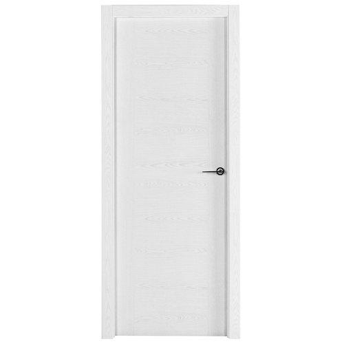 Puerta canarias blanco de apertura izquierda de 72,5 cm