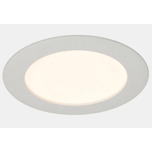 Foco downlight led inspire 6 w extraplano blanco redondo