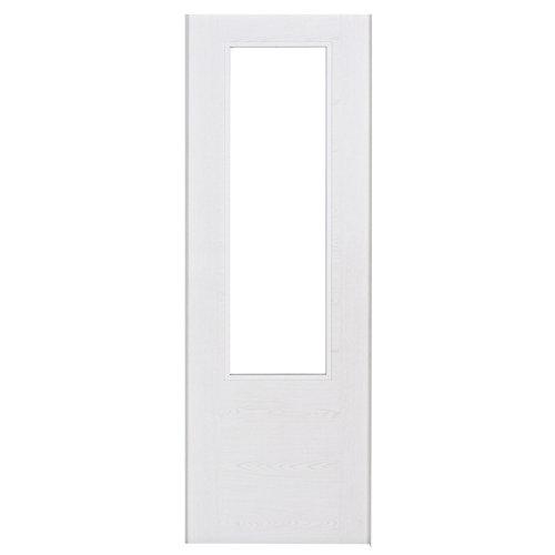 Puerta de interior corredera canarias blanco de 72.5 cm