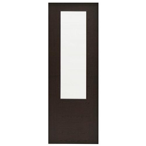 Puerta de interior corredera canarias wengué de 72.5 cm