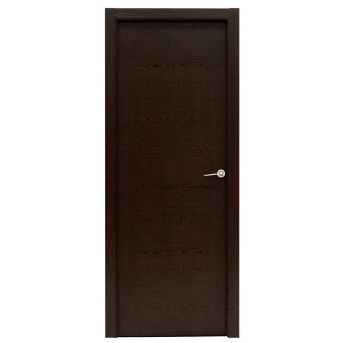 Puerta canarias wengué de apertura izquierda de 72.5 cm