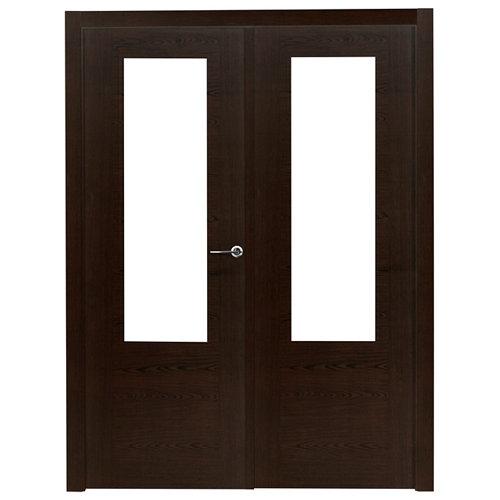 puerta canarias wengué de apertura izquierda de 145 cm