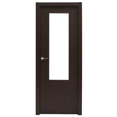 Puerta canarias wengué de apertura derecha de 72.5 cm