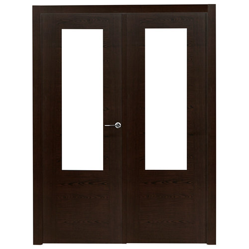 puerta canarias wengué de apertura izquierda de 125 cm