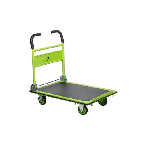 Carro plataforma con ruedas macizas de 61x91 cm y 300 kg máx