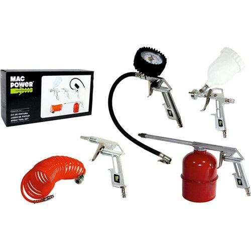 Kit 5 accesorios para pistola de pintar