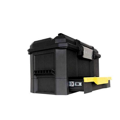 Caja de herramientas stanley 1-70-316 con capacidad de 26 litros