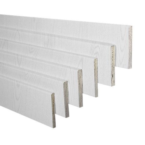 Pack jambas de mdf canarias blanco 70 x 10 mm