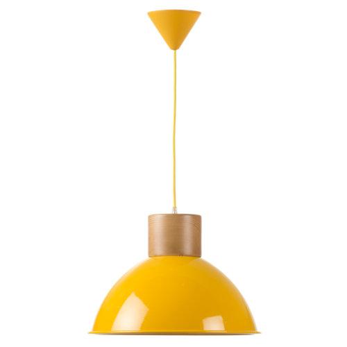 Lámpara de techo kiram marrón 1 luz