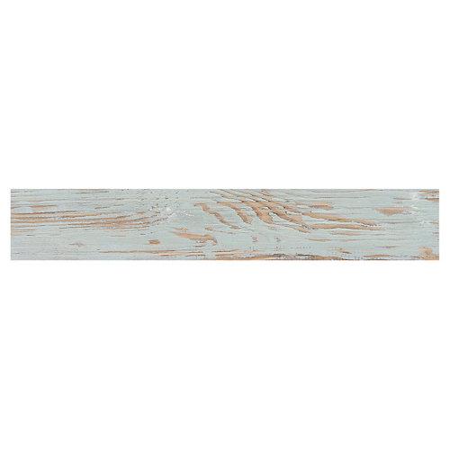 Suelo cerámico porcelánico tribeca 15x90 aqua c1 artens