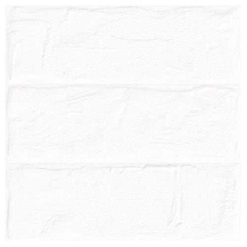 Azulejo cerámico brick 33,15x33,15 white