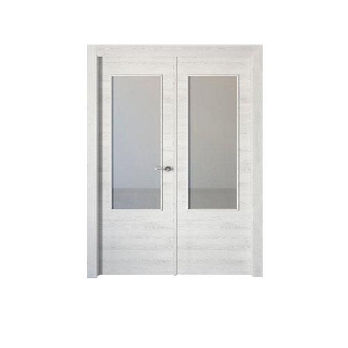 puerta oslo blanco de apertura izquierda de 125 cm