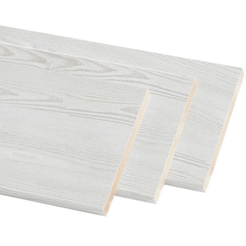 Kit de 3 molduras mdf blanco 70 x 10 mm