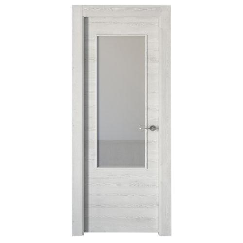 puerta oslo blanco de apertura izquierda de 62.5 cm