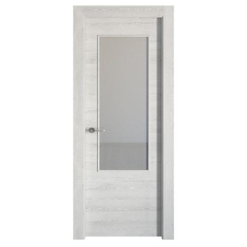 puerta oslo blanco de apertura derecha de 82.5 cm