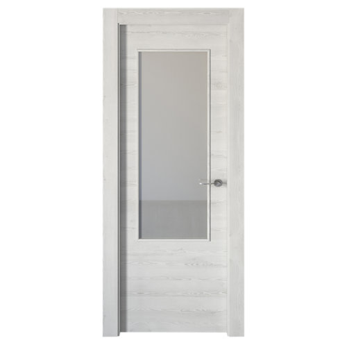 puerta oslo blanco de apertura izquierda de 82.5 cm