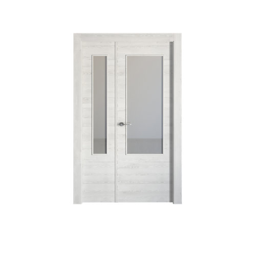 puerta oslo blanco de apertura derecha de 115 cm