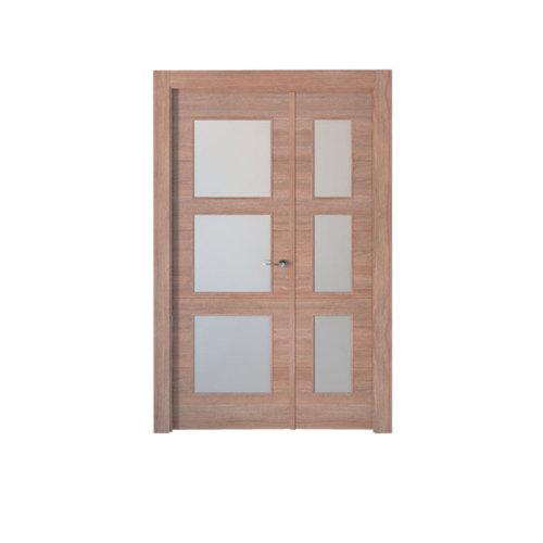 puerta berna nogal de apertura izquierda de 105 cm