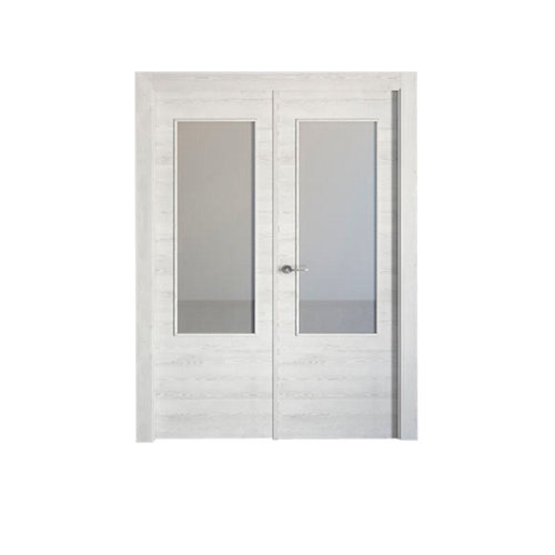 puerta oslo blanco de apertura derecha de 145 cm