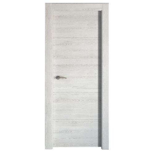 Puerta berna blanco de apertura derecha de 82.50 cm