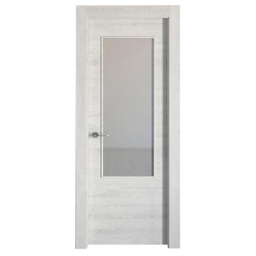 puerta oslo blanco de apertura derecha de 62.5 cm