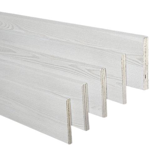 Kit de 5 jambas de mdf blanco veta 90 x 10 mm